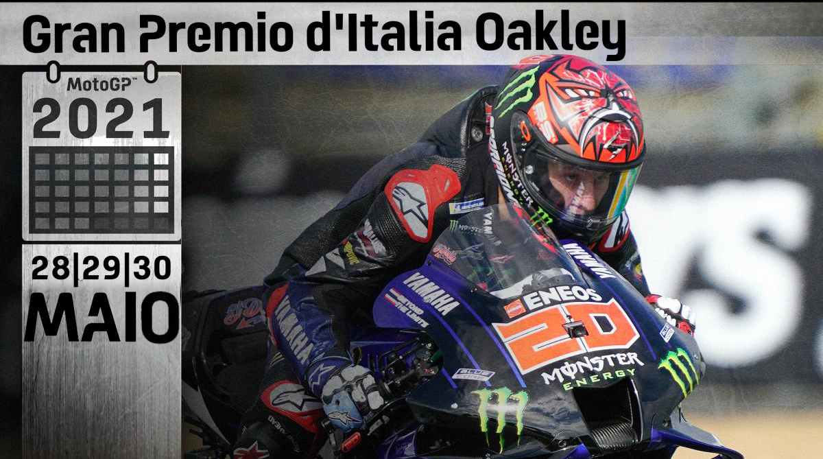 MotoGP, 2021, Mugello: Horários do Grande Prémio Oakley de Itália thumbnail