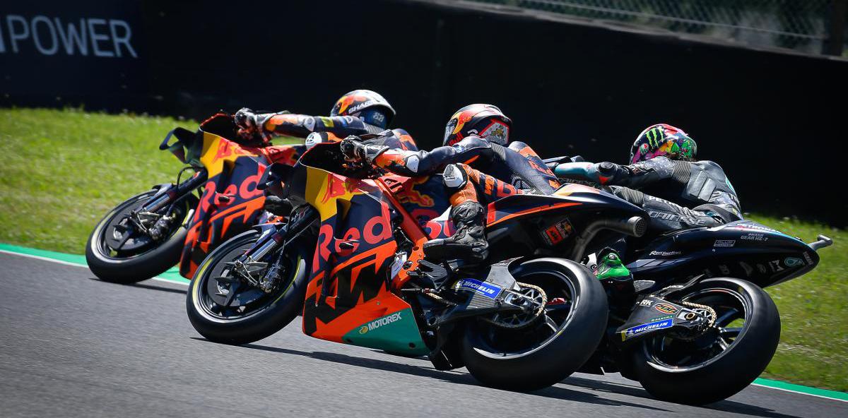 MotoGP,2021, Catalunha: KTM de volta à ribalta thumbnail