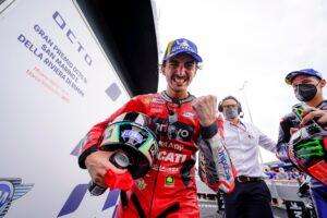 """MotoGP, 2021 – Bagnaia: """"Trabalhei muito com a Panigale e com os dados do Lorenzo"""" thumbnail"""