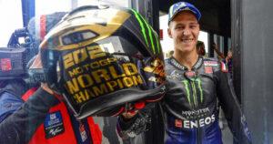 """MotoGP, 2021 – Quartararo (Campeão do mundo): """"Não tenho palavras nem mais líquido para chorar"""" thumbnail"""