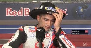 """MotoGP, 2021, Texas: """"Quase caí e ainda me penalizaram!"""" Martin thumbnail"""