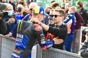 "MotoGP, 2021, Misano 2 – Jorge Lorenzo: ""Estou muito feliz pela Yamaha"" thumbnail"