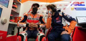 MotoGP, 2021, Texas: Márquez visto por Santi Hernández thumbnail