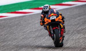MotoGP, 2021, Texas: Miguel Oliveira contente com recuperação thumbnail