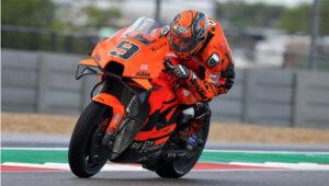 MotoGP 2021, Texas: Petrucci, exausto no fim da prova thumbnail